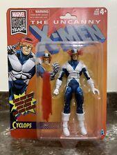 Marvel Legends 80th Anniversary Retro Vintage X-Men Cyclops Non Mint Packaging