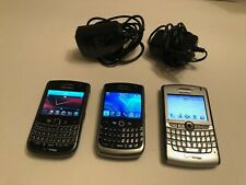 Lot of 3 - BLACKBERRY Curve / World Edition Phone Tested Working