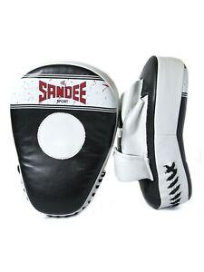Sandee Sport PU Gebogen Focus Pads Boxen Handschuhe Kick Muay Thai Mma Sparring