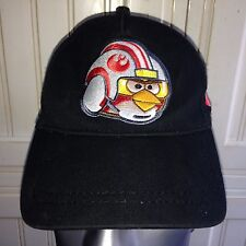 Angry Birds Star Wars Rebel Pilot Hat Baseball Cap Snap Back  Adjustable Black