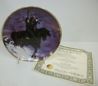 Franklin Mint Spirit of the West Wind Collector Plate with COA