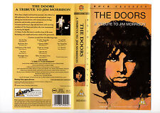 THE DOORS-A TRIBUTE TO JIM MORRISON-RARE SAMPLE--VHS COVER ONLY VHS SLEEVES--