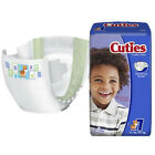 FIRST 1 PK/20 EA Cuties Baby Diapers, Size 7, 41+ lbs CRD701 CHOP