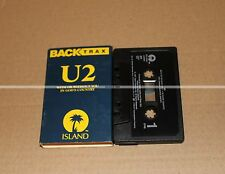 "U2 "" BACK TRAX ""   PROMO  K7  COLLECTOR   TRÈS RARE"