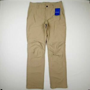 Columbia Colby Way EXS Pant Hiking Size 32x32 Beige QH8
