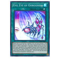 evil eye of gorgoneio CHIM-EN062 super rare 1st