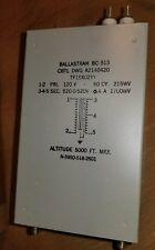 STEP UP TRANSFORMER NEW   120V- 520-0-520 Ballastran BC - 513