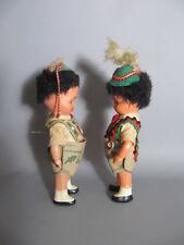 2 alte Zelluloid TRACHTEN PUPPEN - 2 old celluloid dolls
