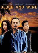 BLOOD AND WINE Movie POSTER 27x40 B Jack Nicholson Michael Caine Judy Davis