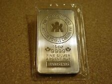 ROYAL CANADIAN MINT 10 TROY OUNCE SILVER BAR .999 FINE SILVER  ORIGINAL PLASTIC
