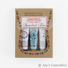 "1 ROSEBUD Smith's Rosebud Lip Balm Trio Set 0.5 oz  ""RB-TRIO""  *Joy's cosmetics*"
