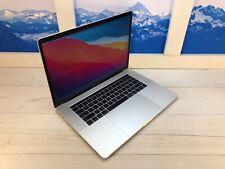 "Apple MacBook Pro Touch Bar 2019 15"" Laptop 512GB 32GB RAM Silver AppleCare+"