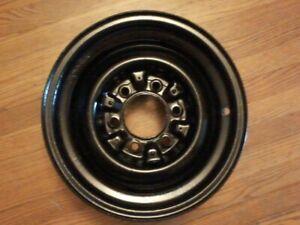 "1955 - 1959 Chevy Gmc Truck 6 Lug Steel Wheel 15 X 5.5"" Rim 3 Clip Original 1957"
