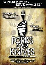 Forks Over Knives  (DVD)  Brand New Diet    Vegan  Vegetarian  Wellness