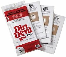 NEW H P Products Dirt Devil CV1500 Vacuum Filter Bag Pack of 3 part # 9597