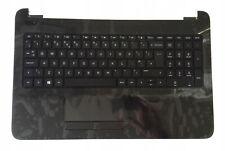 NEW QWERTY UK Original palmrest Keyboard HP 15-AY 15-BA 15-AC 15-AF black glossy