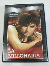 LA MILLONARIA DVD SLIM SOPHIA LOREN PETER SELLERS ESPAÑOL