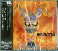 IMPELLITTERI-PEDAL TO THE METAL-JAPAN CD BONUS TRACK Ltd/Ed C94