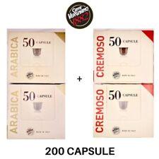 200 Capsule Arabica/Cremoso VERGNANO Compatibili Nespresso