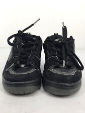 Heelys Size 4 Boys Vapor Black Skate Shoe Style 7135 Euc