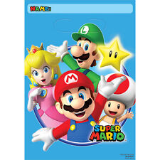 Super Mario Brothers Treat BAGS Video Game Birthday Party Supplies Favors Loot
