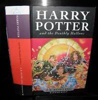 Harry Potter and the Deathly Hallows, J.K Rowling, 2007 1st edition, HB