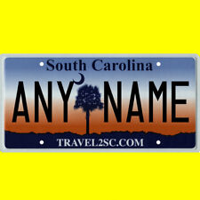 1/43-1/5 scale custom license plate set any brand RC/model car - S Carolina tag
