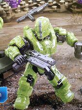 Halo Mega Bloks Set #97350 UNSC Venom Lime Spartan Gungnir w/ Railgun!!!!