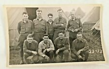 Vtg. Camp Smith National Guard 108Th Infantry Real Photo Postcard 1937 Rppc