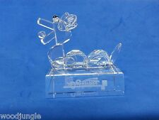 Rare Cathay Bank Crystal Glass Chinese Year Of The Dragaon Paperweight Figurine