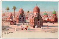 Postcard Tombeaux des Khalifs in Le Caire, Egypt~105912
