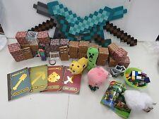 MineCraft Toy Figure Lot Lot of 48 plus Legos  1550