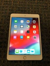 Apple iPad Mini 3 16gb WiFi MH3G2LL/A, White/Gold 30 day warranty *Nice*