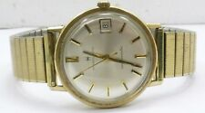 Vintage 1960's Hamilton Automatic 10K RGP Date Indicator Wrist Watch Running!!!