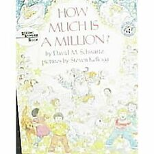 How Much Is a Million? by David M. Schwartz (1987, Hardcover)