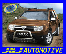 PARE BUFFLE DACIA DUSTER 2010 -2013  HOMOLOGUE INOX Ø 60mm avec grill