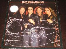 The Runaways rare '77 PUNK ROCK LP Waitin' For The Night mint-  Joan Jett