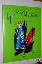 Opt art Magazine 3 Robuchon Savoy Lüpertz illustrations