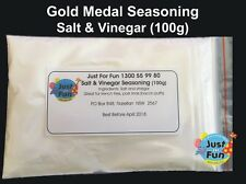 Gold Medal Salt & Vinegar Seasoning for Popcorn Machines (100g)