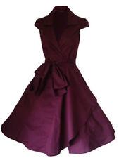 Vestiti da donna rosse con Scollo a V Taglia 42
