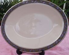 "Large Franciscan CONSTANTINE 13"" x 10.5"" Oval Serving Platter 1950s"
