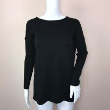 Style CO PP Sweater NEW Black Knit Sleeves Oversize
