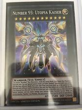 *** NUMBER 93: UTOPIA KAISER *** YCSW-EN009 SUPER RARE MINT CONDITION  YUGIOH