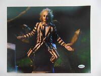 """Beetlejuice"" Michael Keaton Hand Signed 10X8 Color Photo Todd Mueller COA"