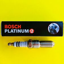 New BOSCH Platinum+2 Spark Plug - 4314 Made in Germany