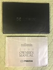 99 1999 Mazda Millennia Owners Manual Guide Case FREE SHIPPING Book SMOKE FREE