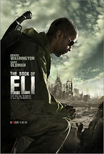"The Book of Eli (2010) Movie Poster New 24""x36"" Denzel Washington, Mila Kunis"