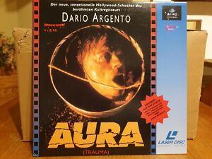 Laserdisc Aura Widescreen Pal deutsch incl Doku über Dario Argento