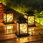 Waterproof Led Solar Powered Hanging Lantern Lights Outdoor Garden Table Lamp