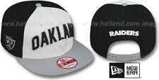 Raiders 'NFL ONFIELD DRAFT SNAPBACK' Hats by New Era 2012